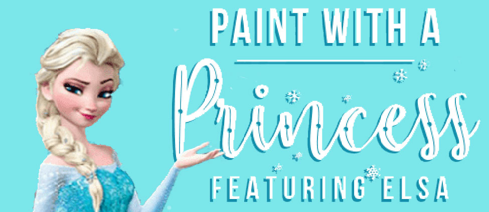 Paint with a Princess at As You Wish Pottery