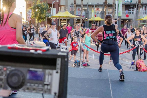 Westgate Entertainment District - Fitness Event