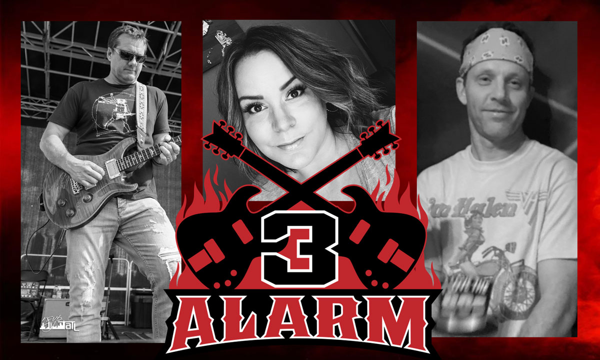 3 Alarm band photo