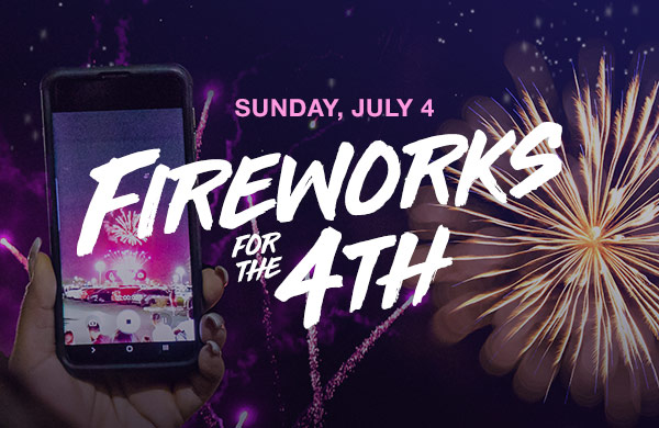 Fireworks for the 4th of July