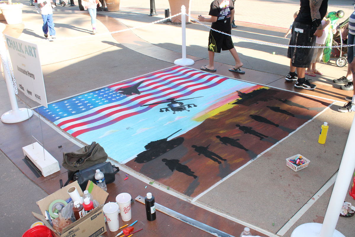 4th of July mural