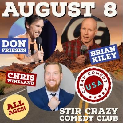 Clean Comedy Night (Don, Chris, Brian)