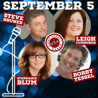 Clean Comedy Night | September 5