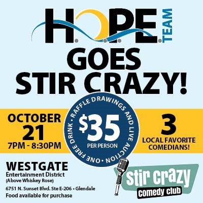 Hope Team Fundraiser